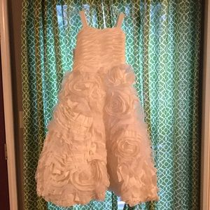 Other - Girls white special occasion dress